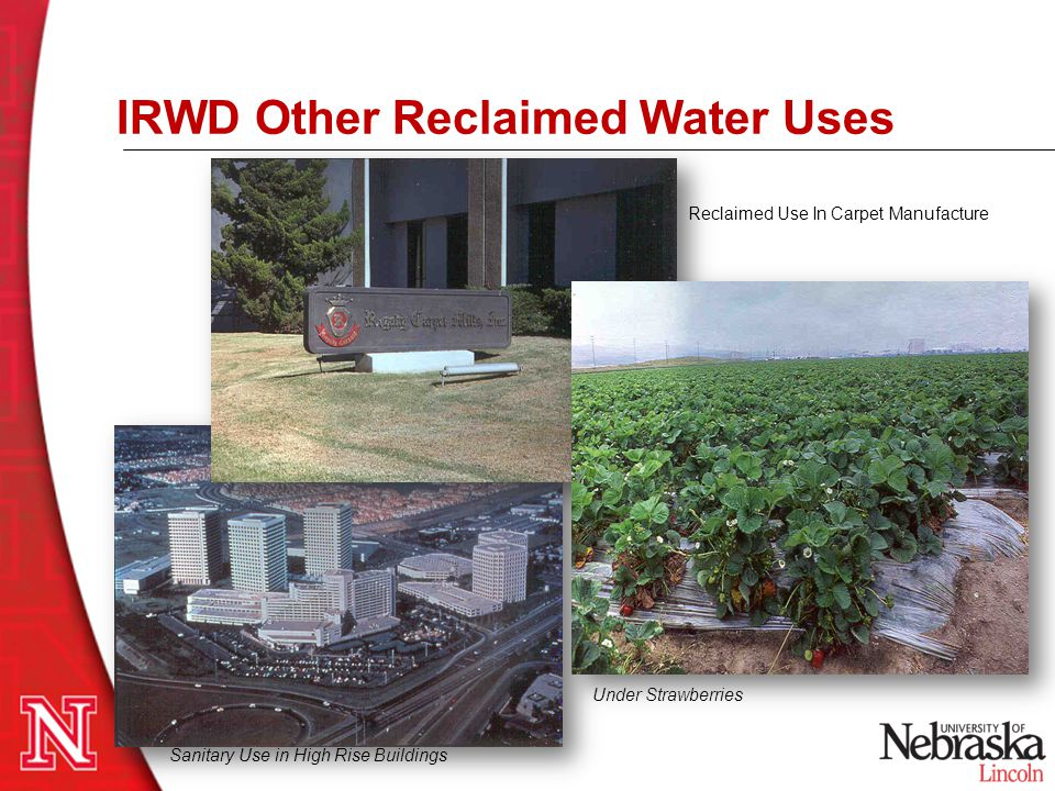 IRWD Other Reclaimed Water Uses