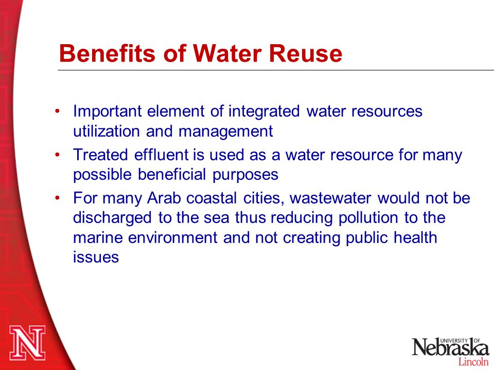 Benefits of Water Reuse
