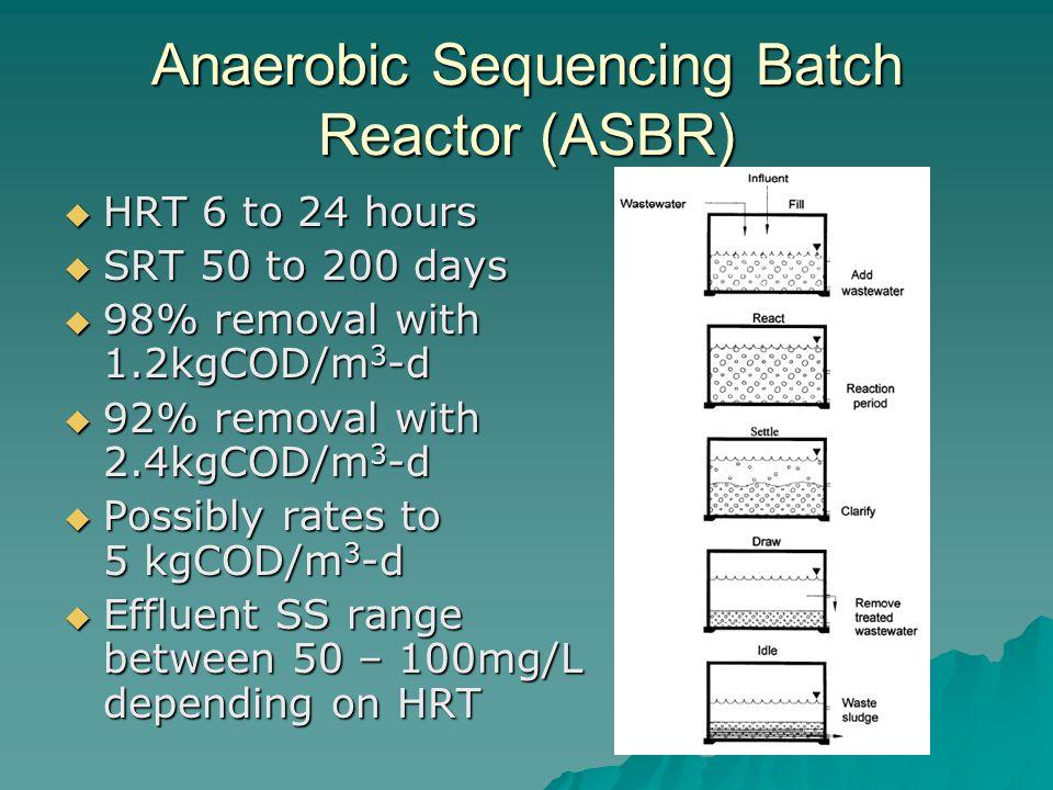 Anaerobic Sequencing Batch Reactor (ASBR)