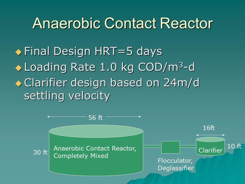 Anaerobic Contact Reactor