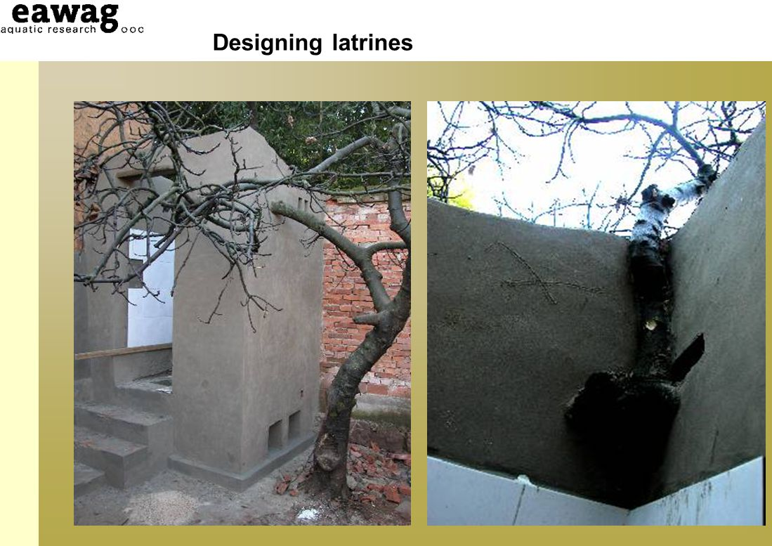 Designing latrines Site Construction materials Superstructure design
