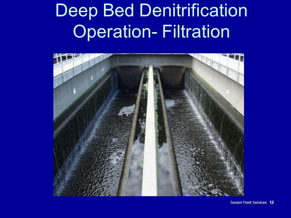Deep Bed Denitrification Operation- Filtration