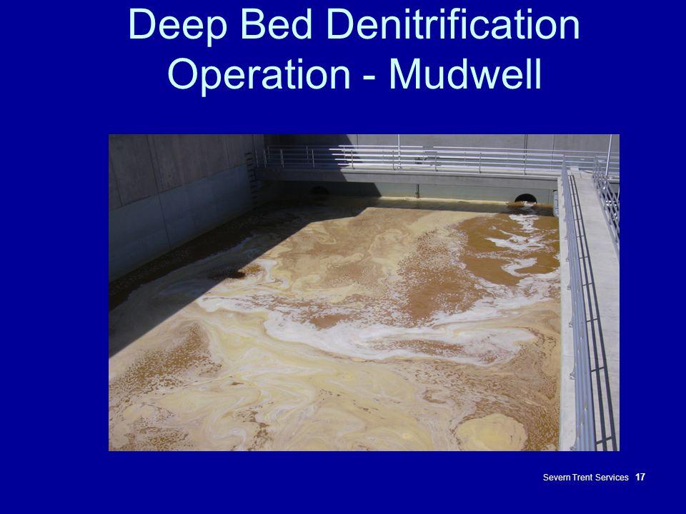Deep Bed Denitrification Operation - Mudwell