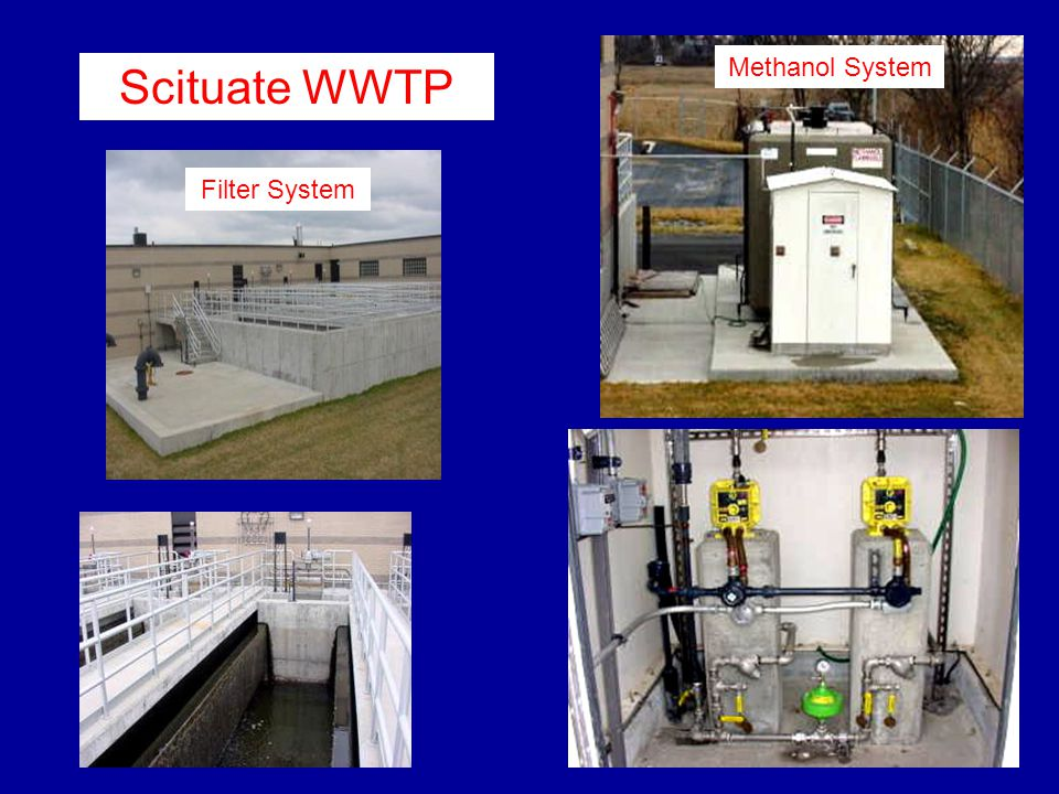 Methanol System Scituate WWTP Filter System