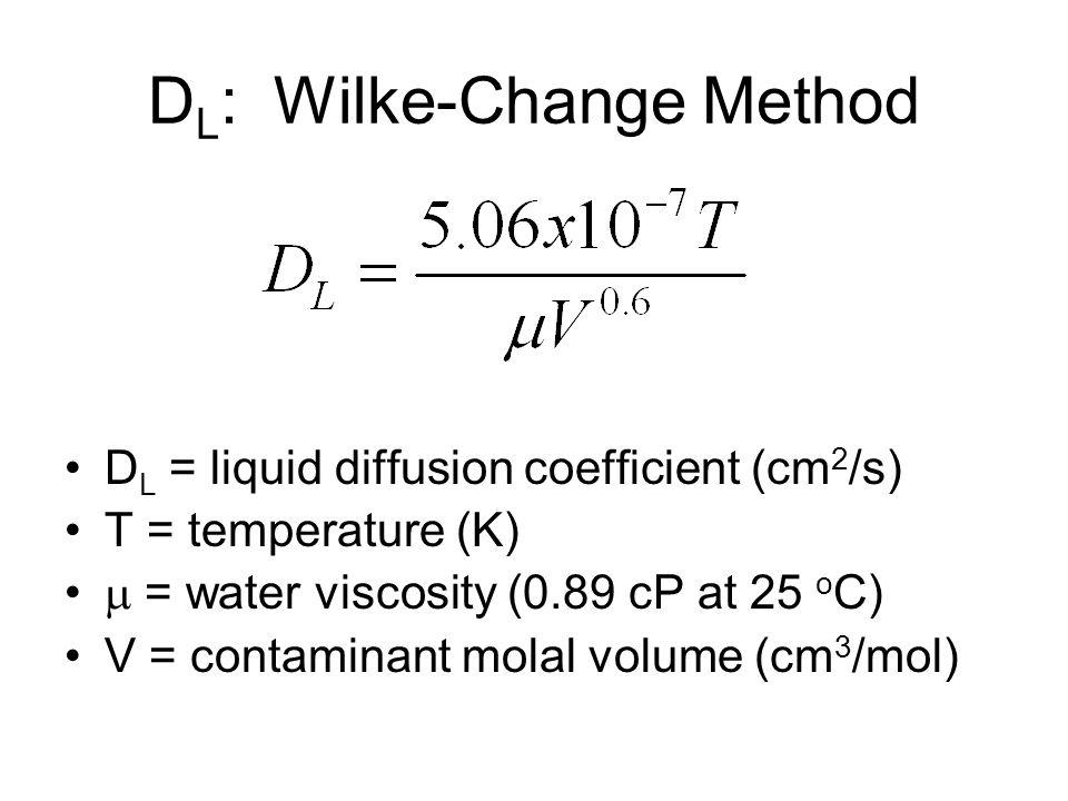 DL: Wilke-Change Method