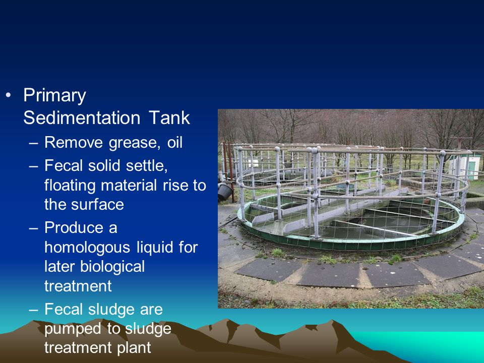 Primary Sedimentation Tank