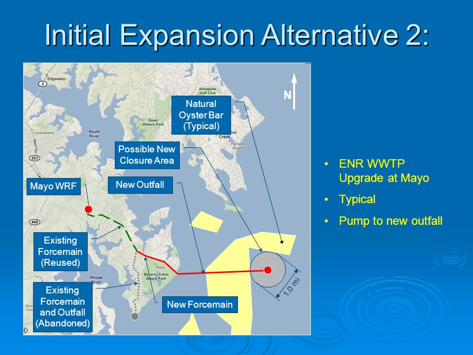 Initial Expansion Alternative 2: