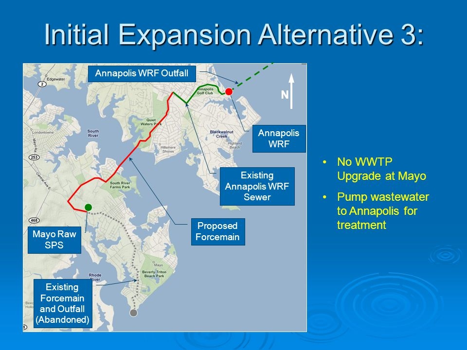 Initial Expansion Alternative 3:
