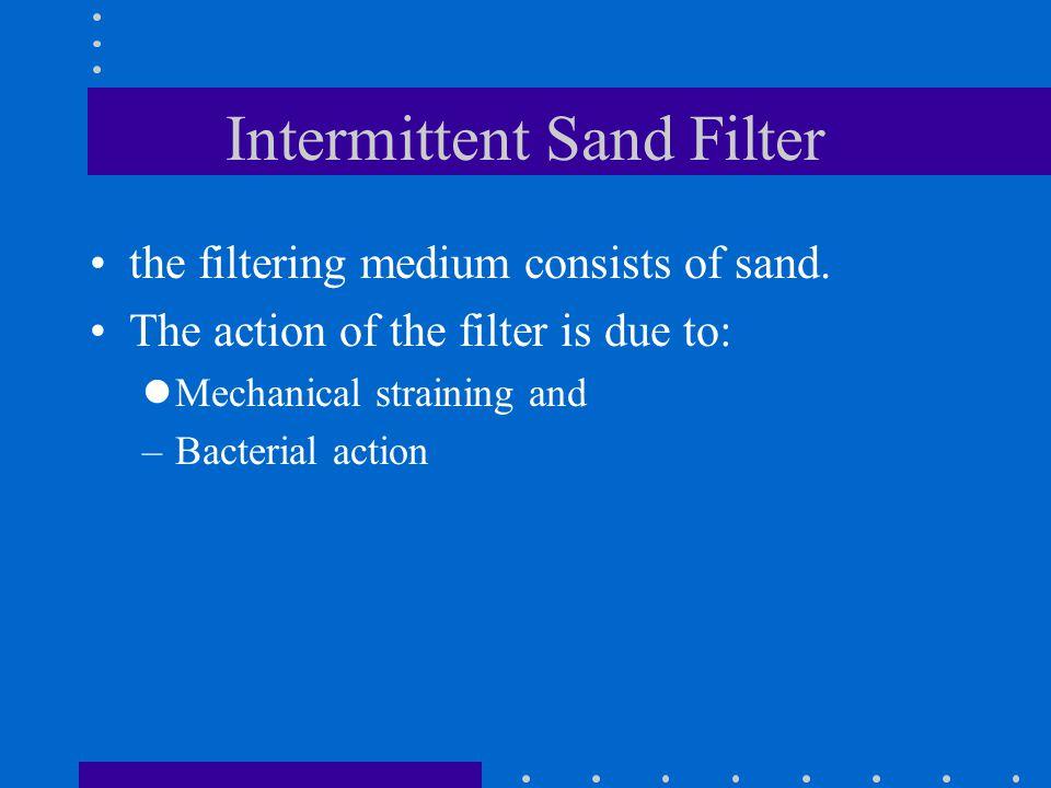 Intermittent Sand Filter