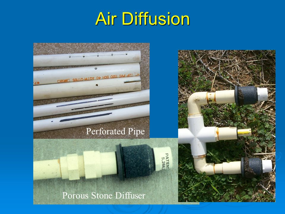 Air Diffusion Perforated Pipe Porous Stone Diffuser