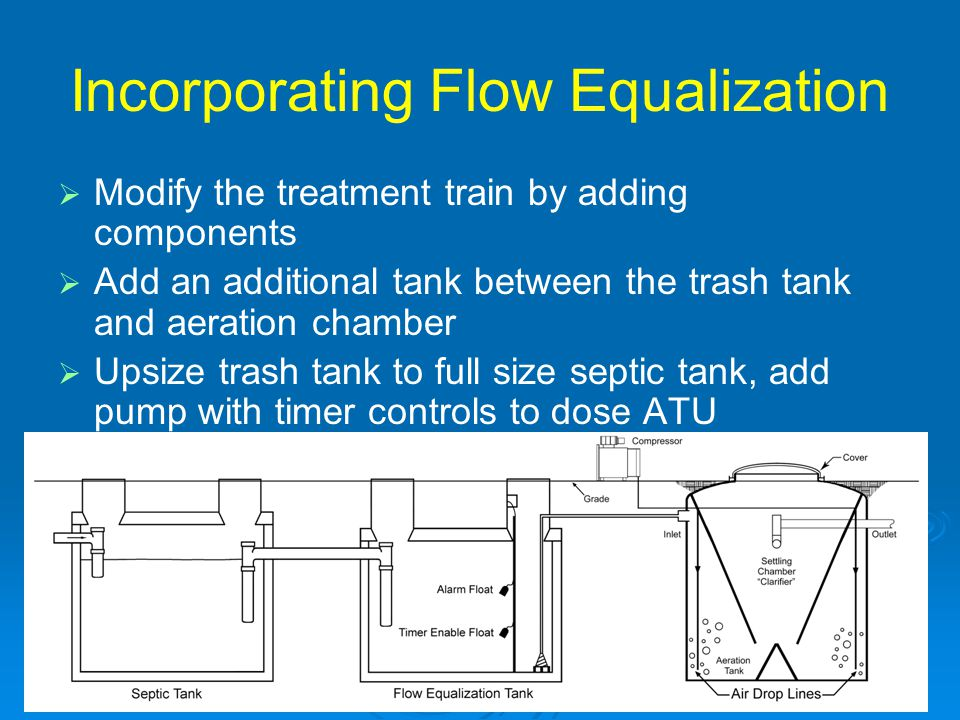 Incorporating Flow Equalization