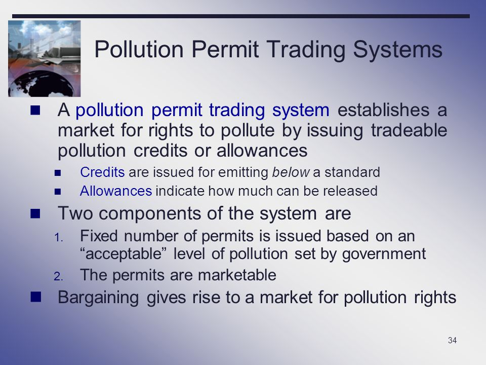 Pollution Permit Trading Systems