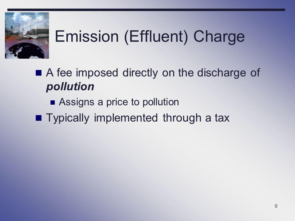 Emission (Effluent) Charge