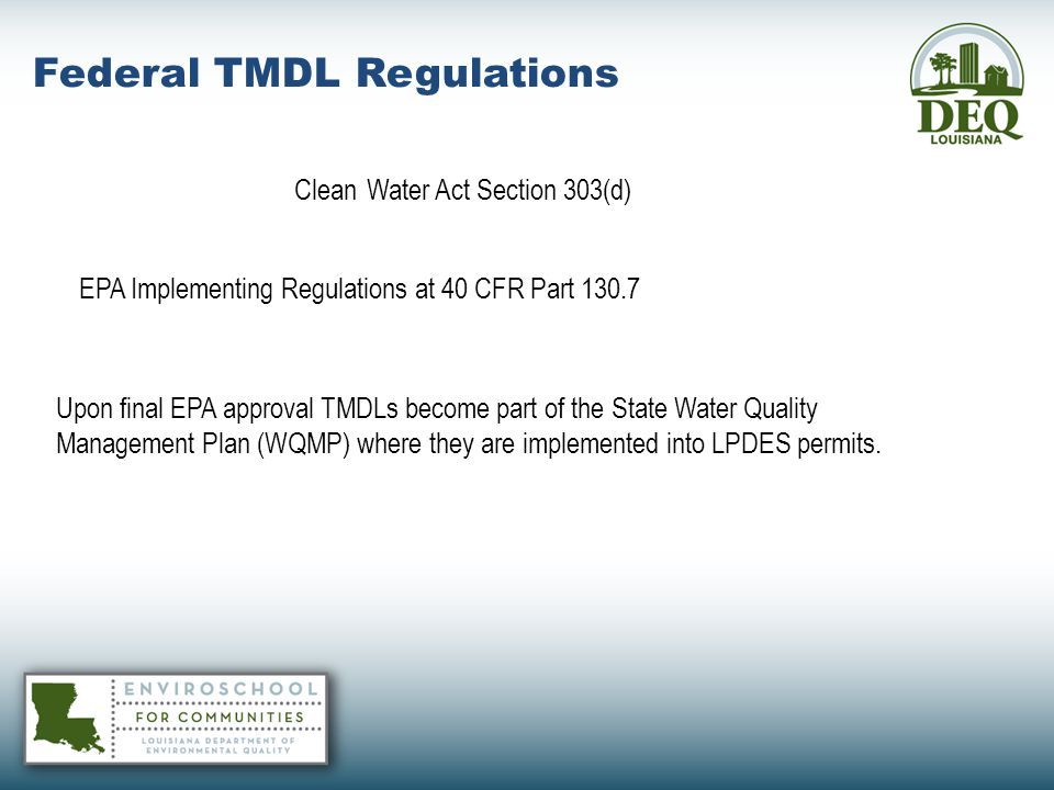 Clean Water Act Section 303(d)