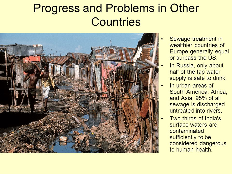 Progress and Problems in Other Countries
