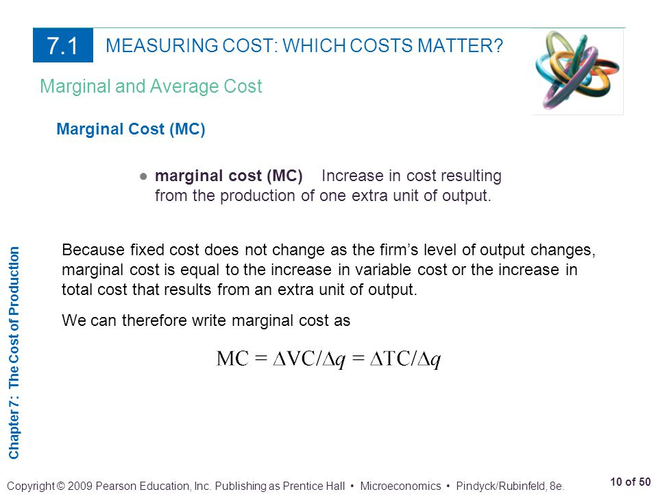 MEASURING COST: WHICH COSTS MATTER