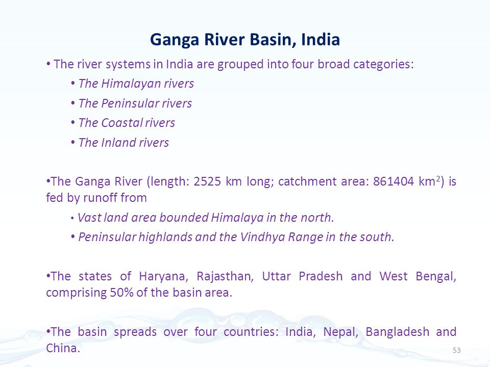 Ganga River Basin, India