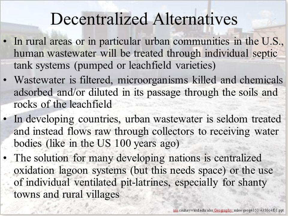 Decentralized Alternatives