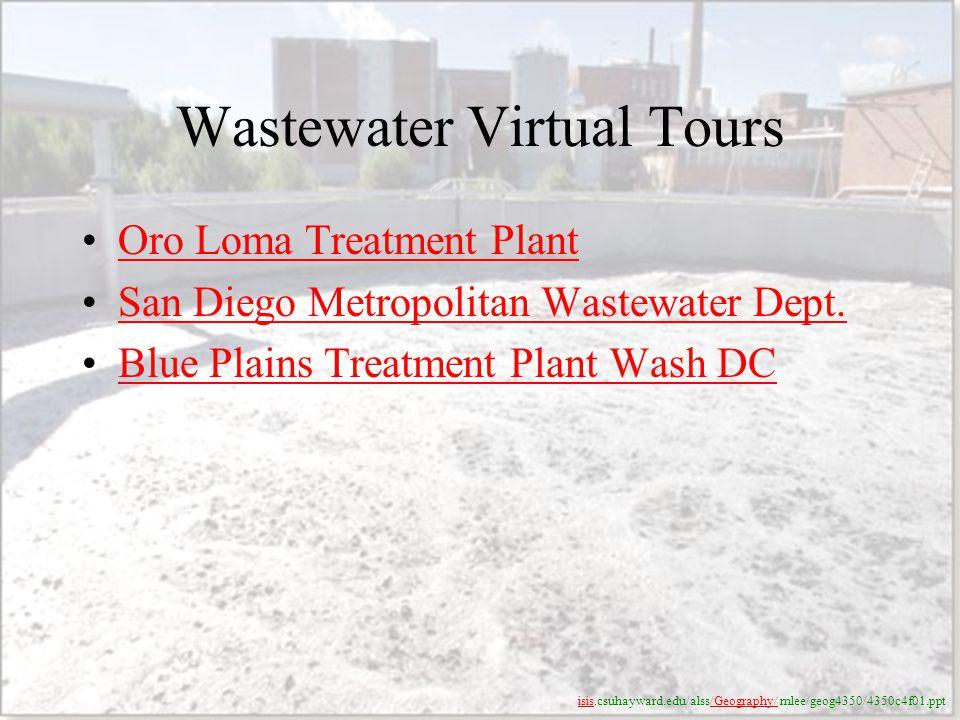 Wastewater Virtual Tours