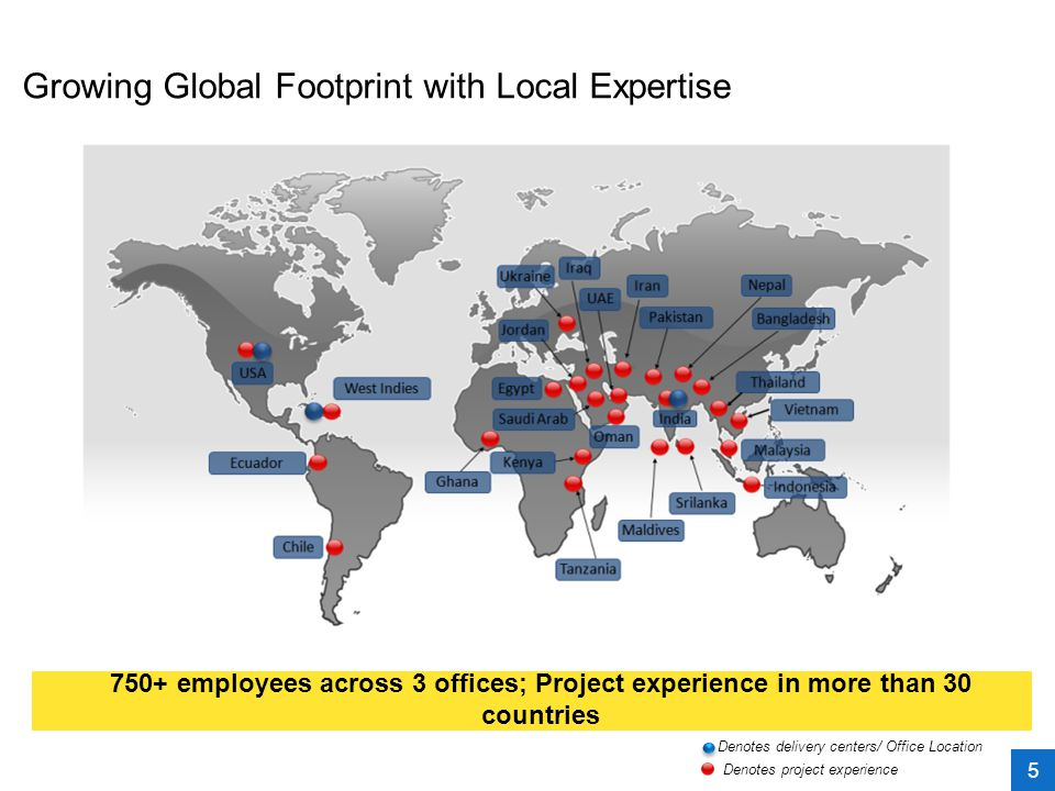 Growing Global Footprint with Local Expertise