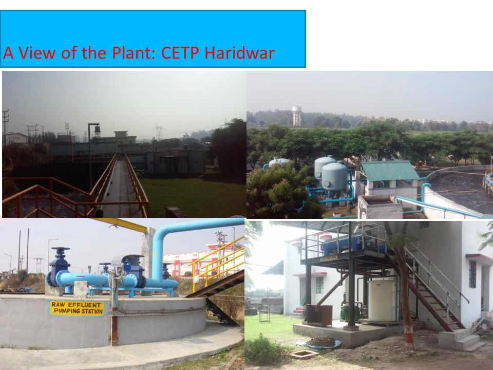 A View of the Plant: CETP Haridwar