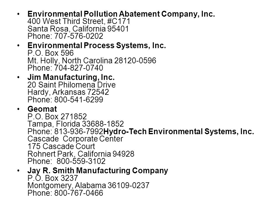 Environmental Pollution Abatement Company, Inc
