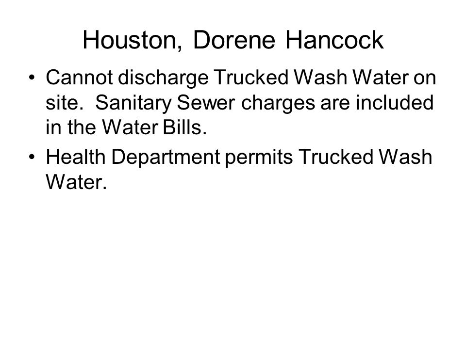 Houston, Dorene Hancock
