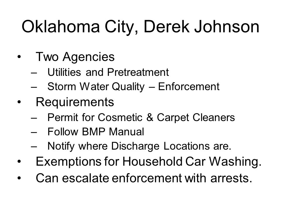 Oklahoma City, Derek Johnson