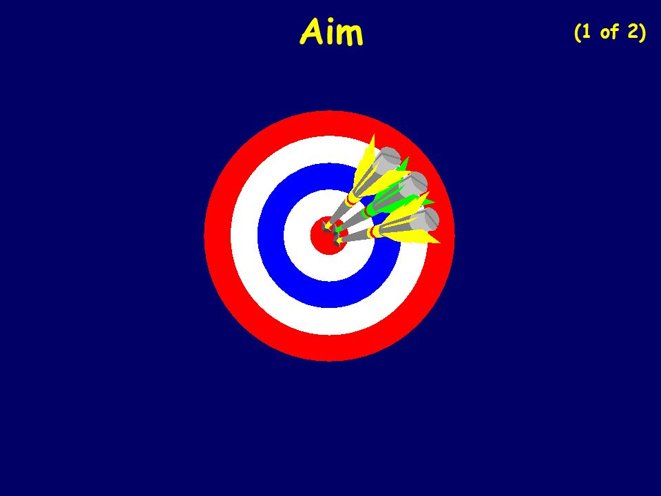 Aim (1 of 2)