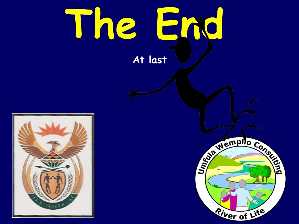 The End At last
