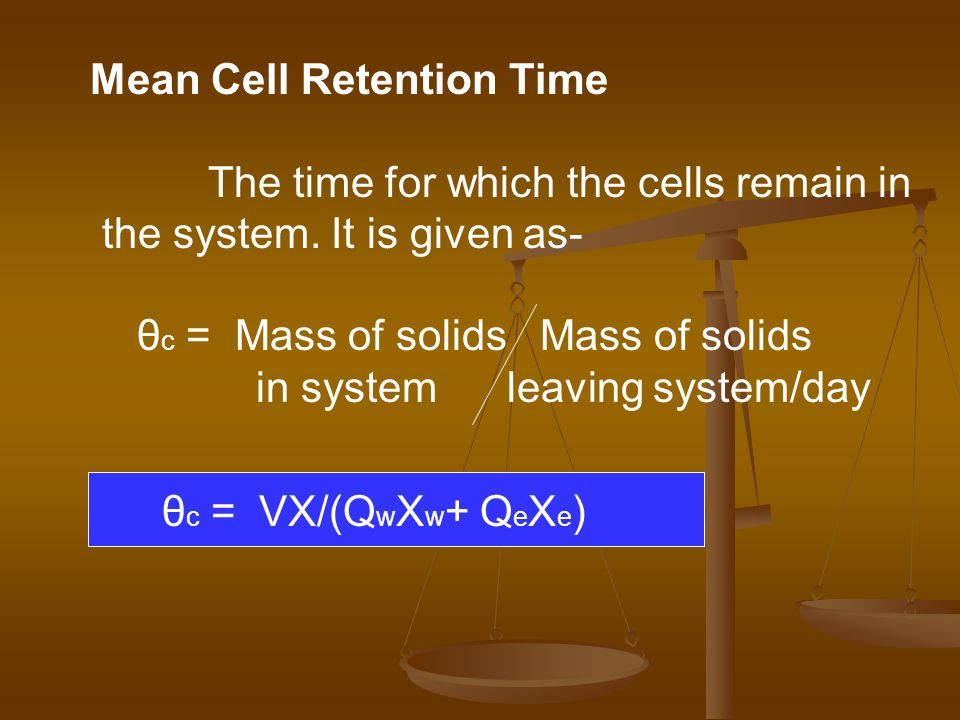 Mean Cell Retention Time