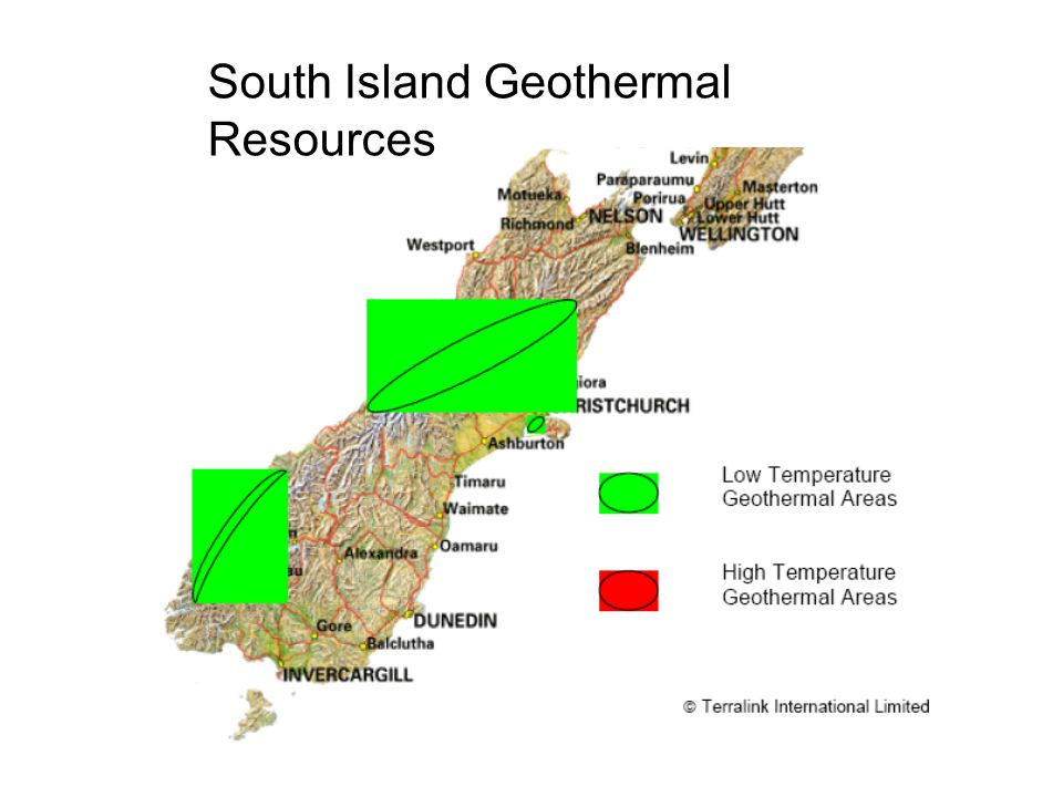 South Island Geothermal Resources
