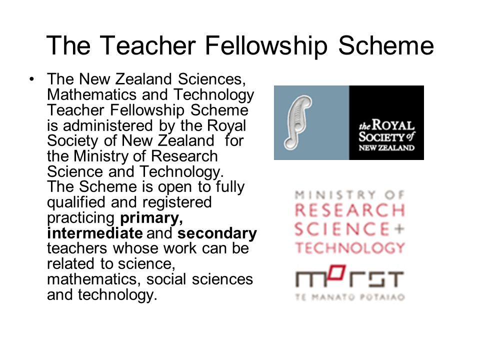 The Teacher Fellowship Scheme