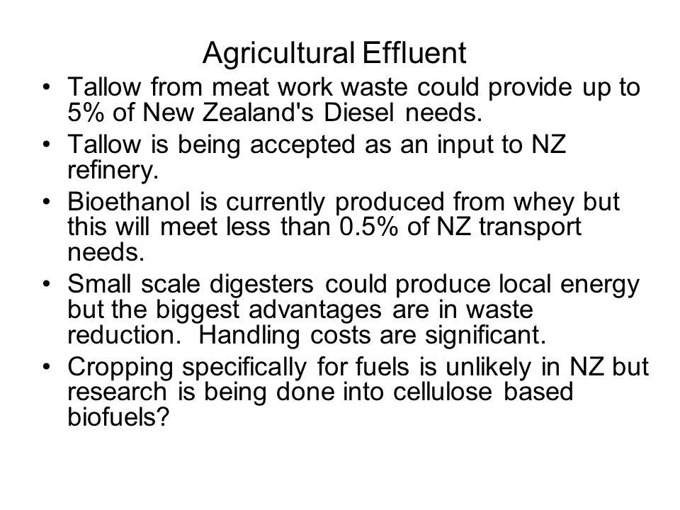 Agricultural Effluent