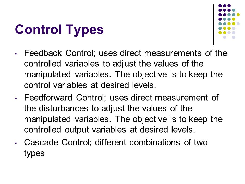 Control Types