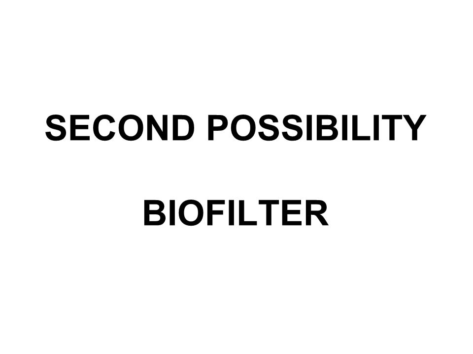 SECOND POSSIBILITY BIOFILTER