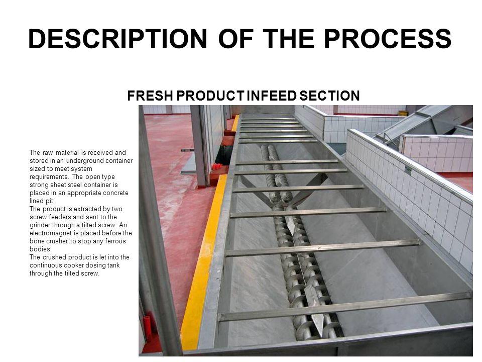 DESCRIPTION OF THE PROCESS