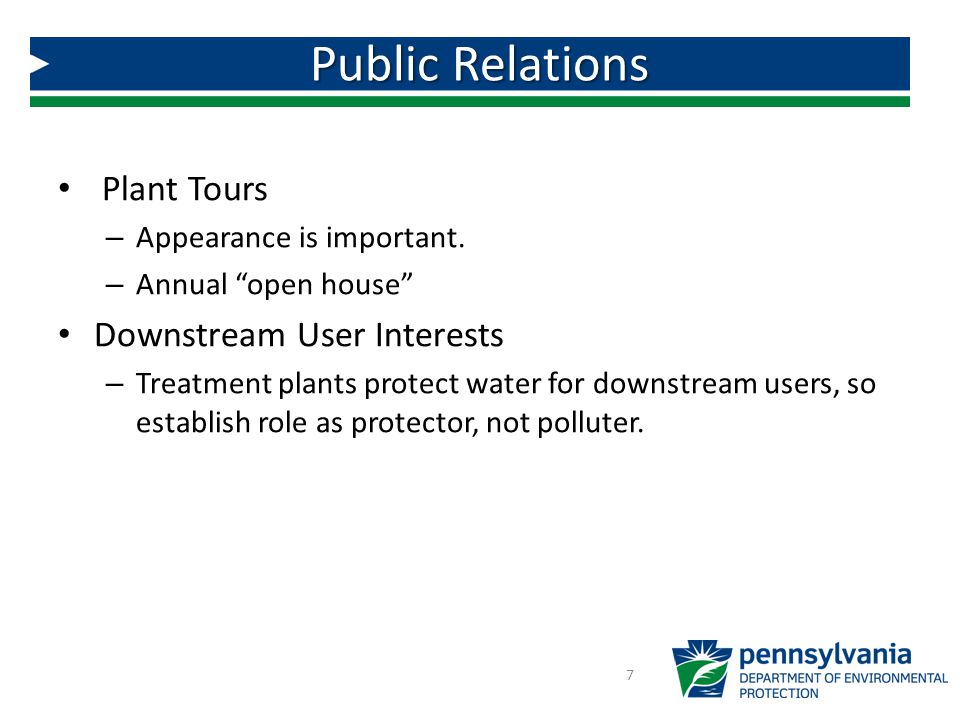 Public Relations Plant Tours Downstream User Interests