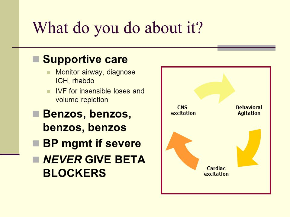 What do you do about it Supportive care