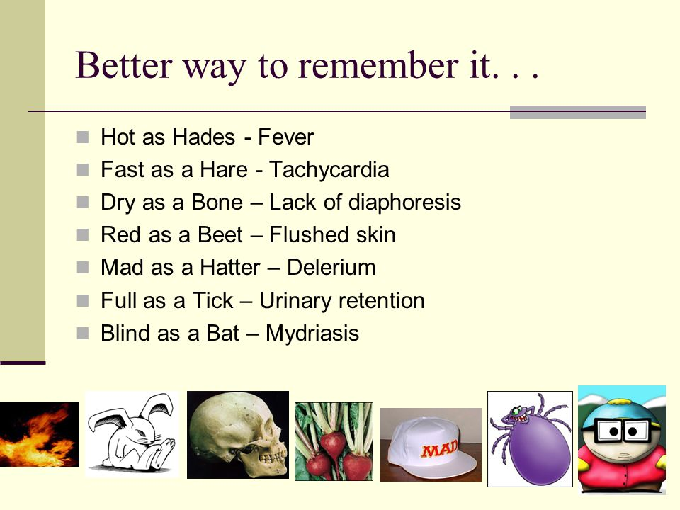 Better way to remember it. . .