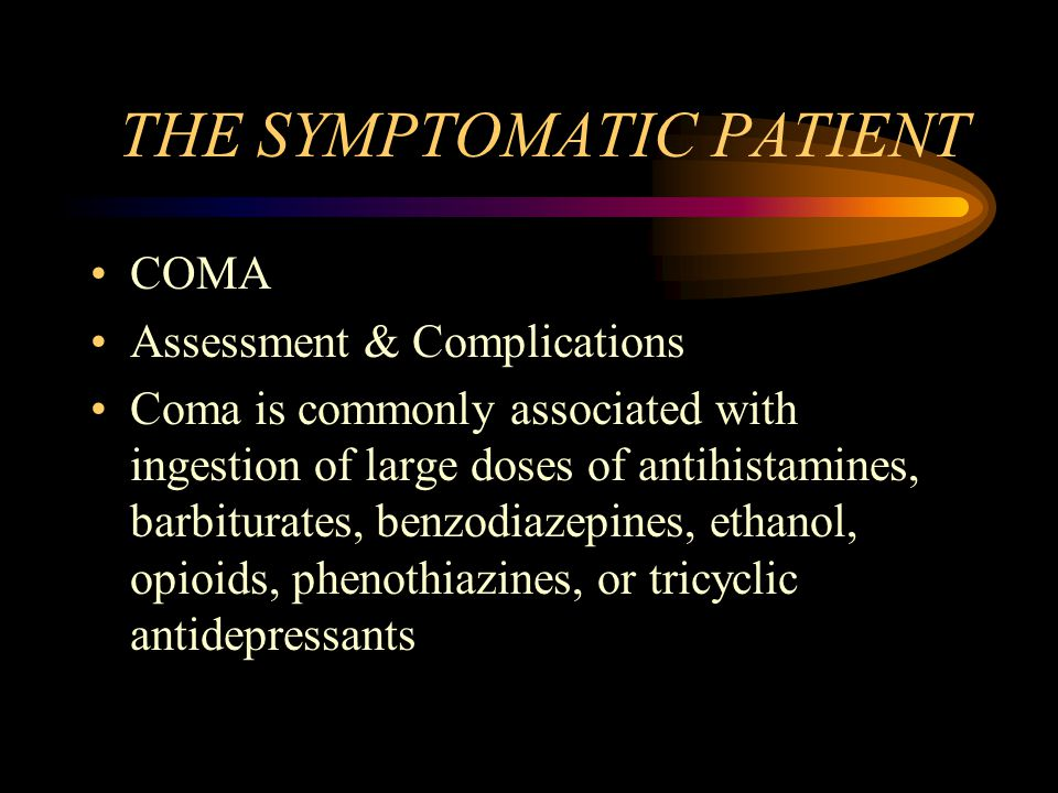 THE SYMPTOMATIC PATIENT