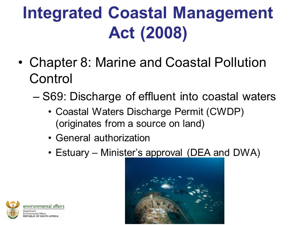 Integrated Coastal Management Act (2008)
