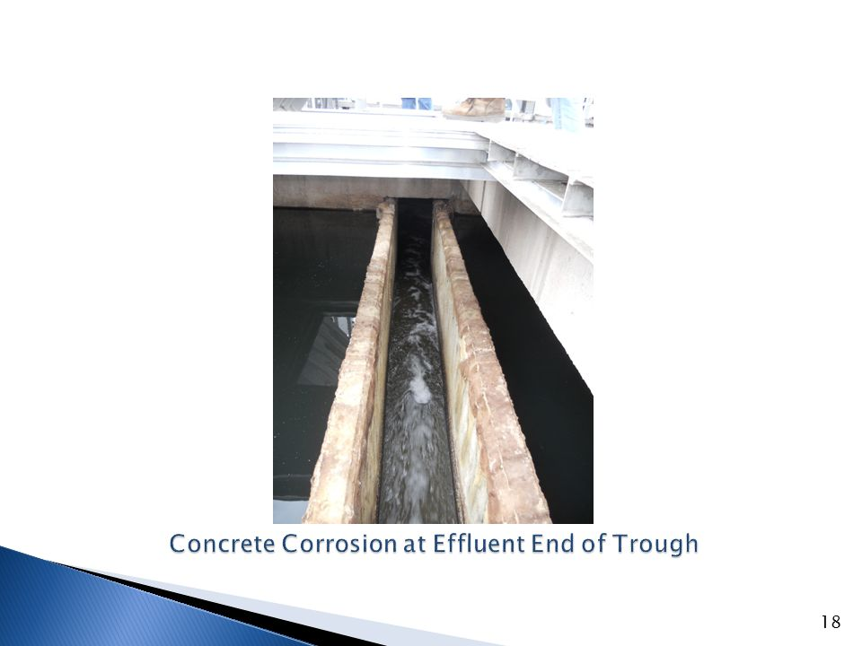 Corrosion of Concrete Over Covered Tank