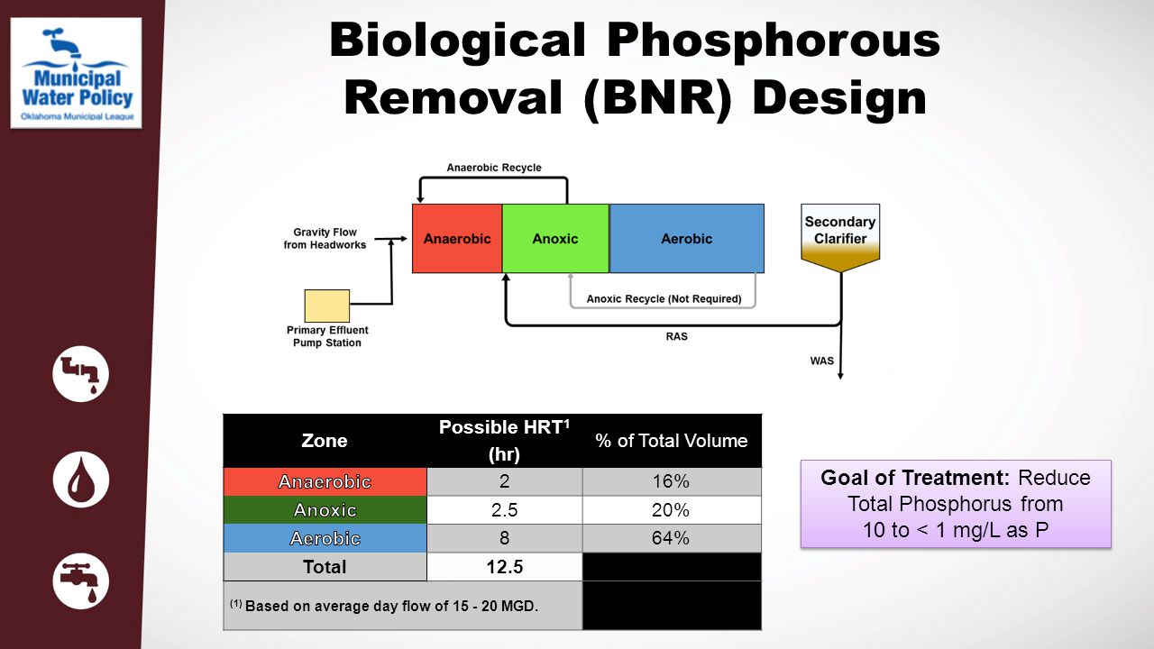 Biological Phosphorous Removal (BNR) Design