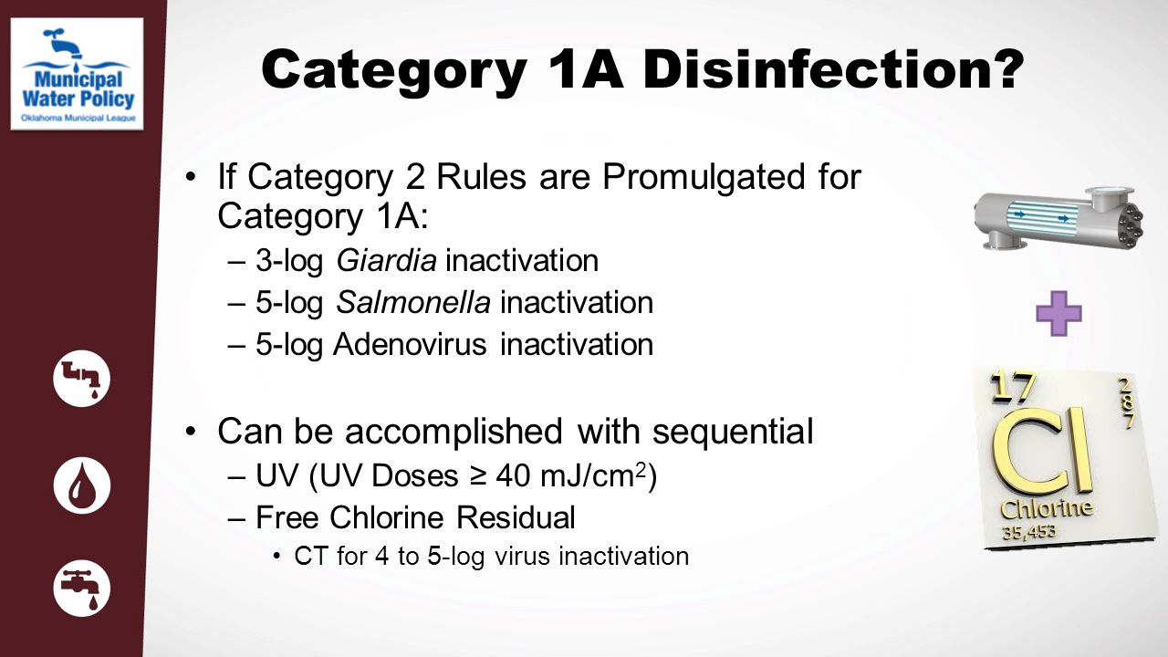 Category 1A Disinfection