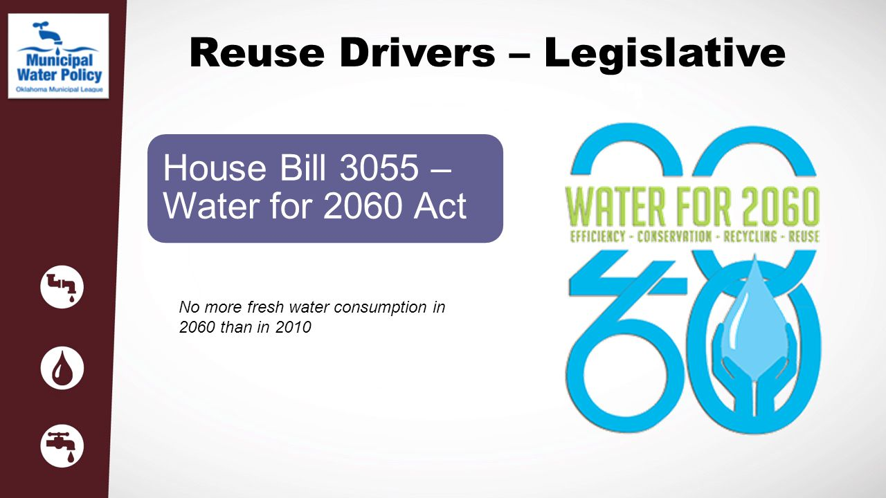 Reuse Drivers – Legislative