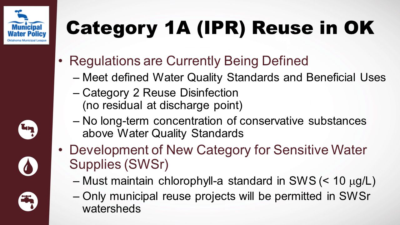 Category 1A (IPR) Reuse in OK