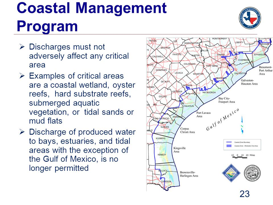 Coastal Management Program