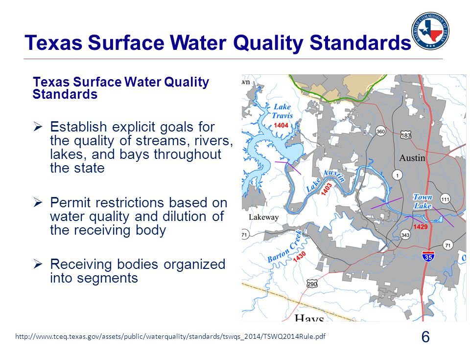 Texas Surface Water Quality Standards