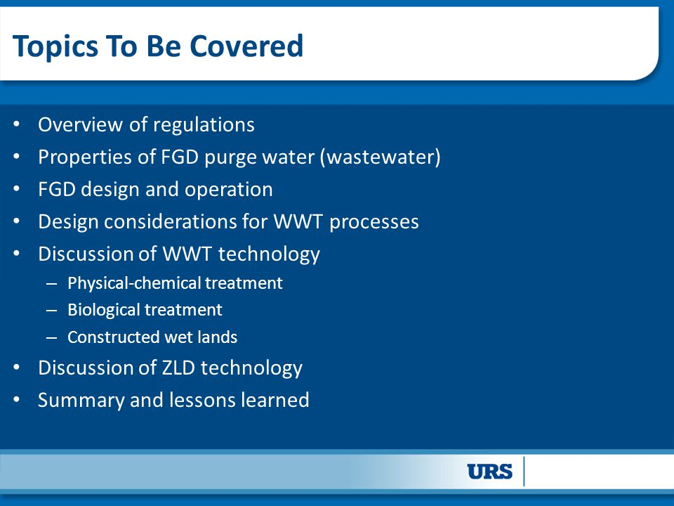 Topics To Be Covered Overview of regulations